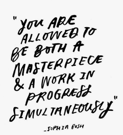 Be a masterpiece